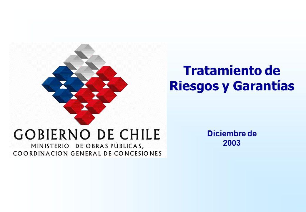 Tratamiento de Riesgos y Garantías Diciembre de 2003