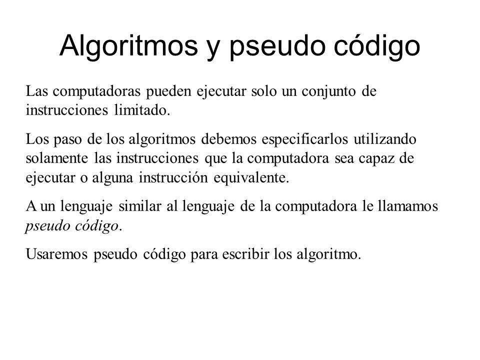 Ejemplo: volumen esfera Algoritmo Volumen de esfera.