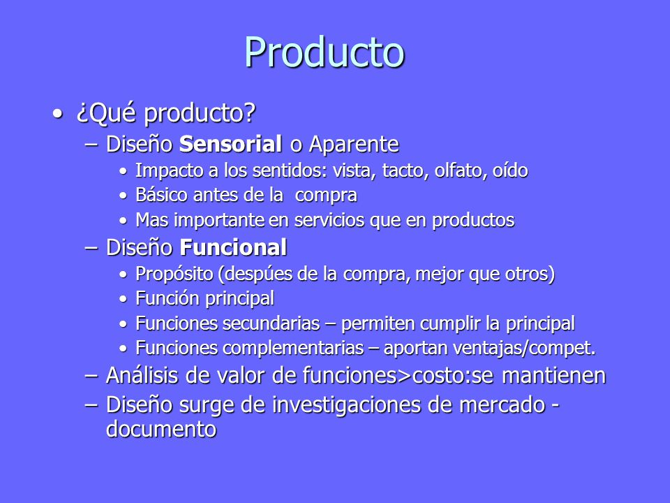 Producto ¿Qué producto ¿Qué producto.