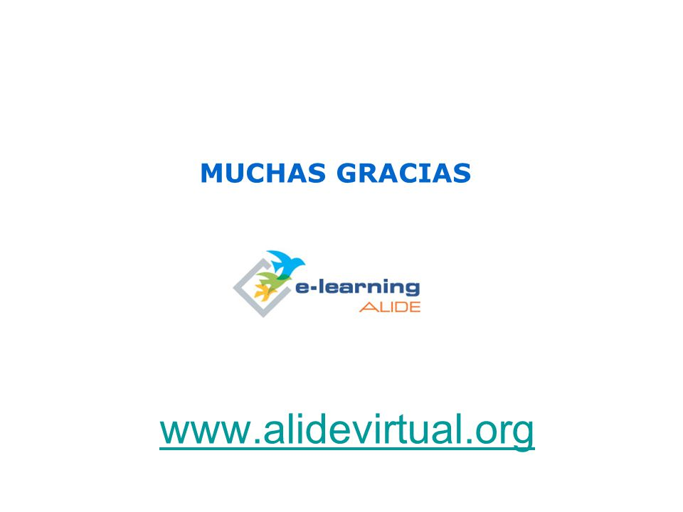www.alidevirtual.org MUCHAS GRACIAS
