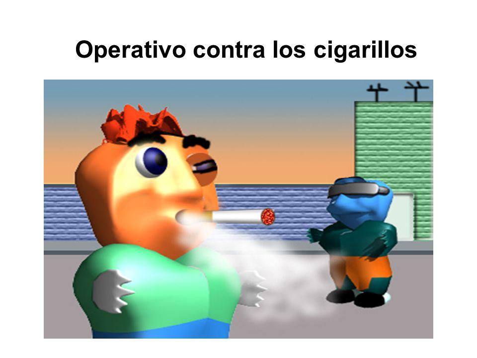 Operativo contra los cigarillos