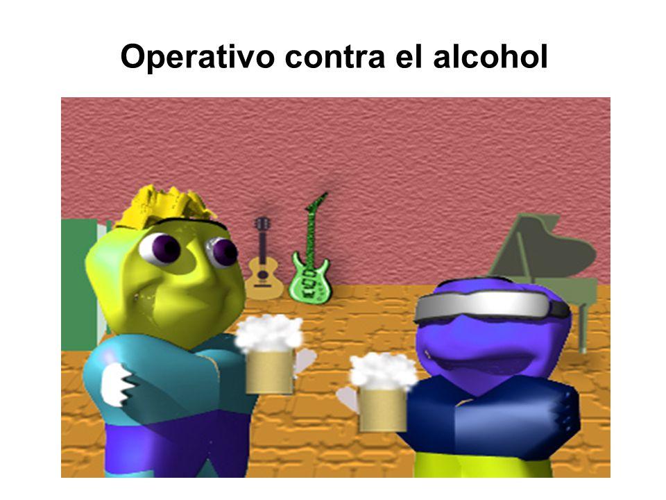 Operativo contra el alcohol