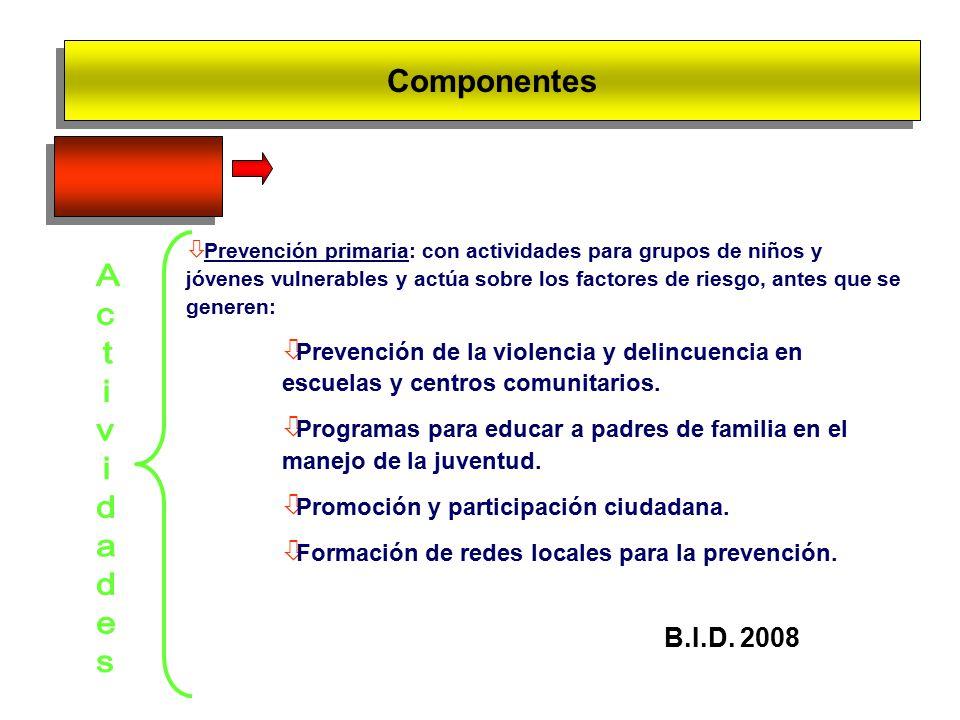 Componentes III.