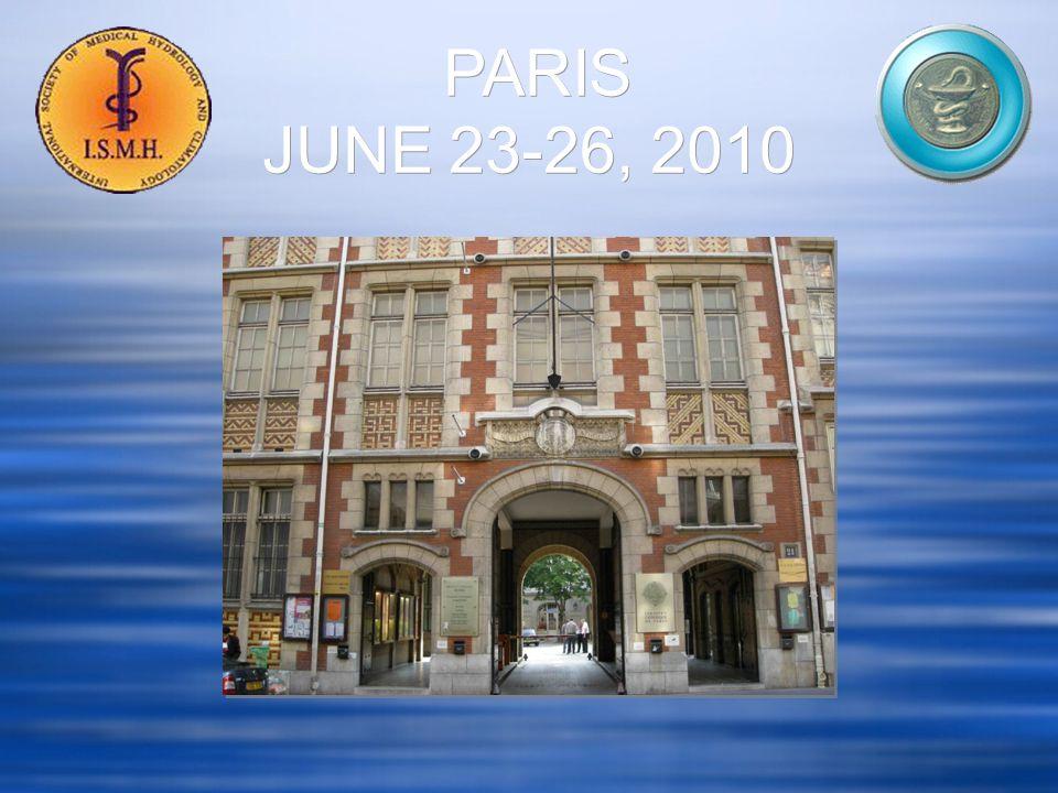 PARIS JUNE 23-26, 2010