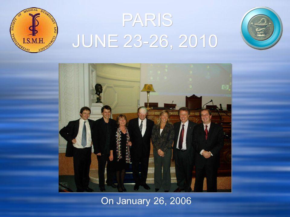 On January 26, 2006