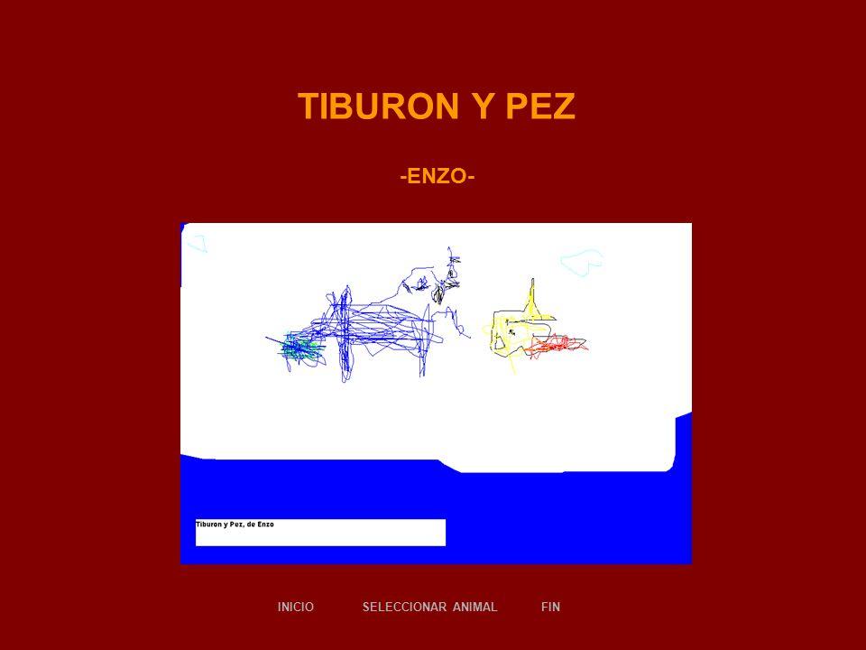 TIBURON Y PEZ -ENZO- SELECCIONAR ANIMALINICIOFIN