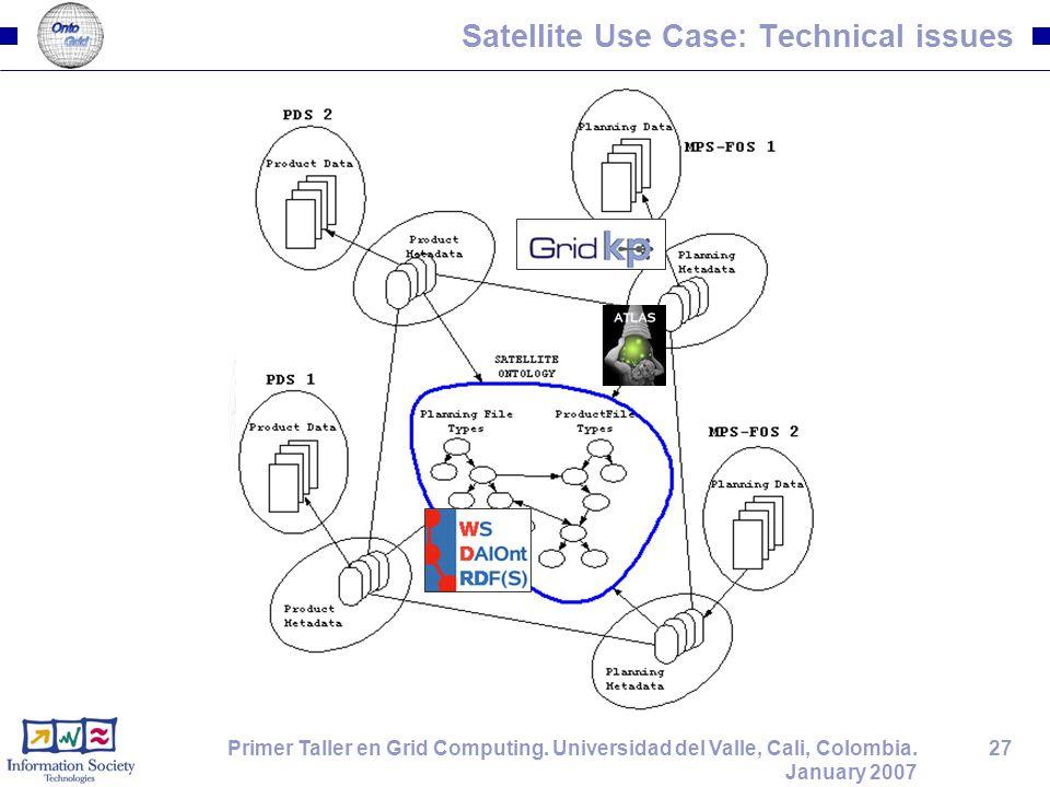 27Primer Taller en Grid Computing. Universidad del Valle, Cali, Colombia.