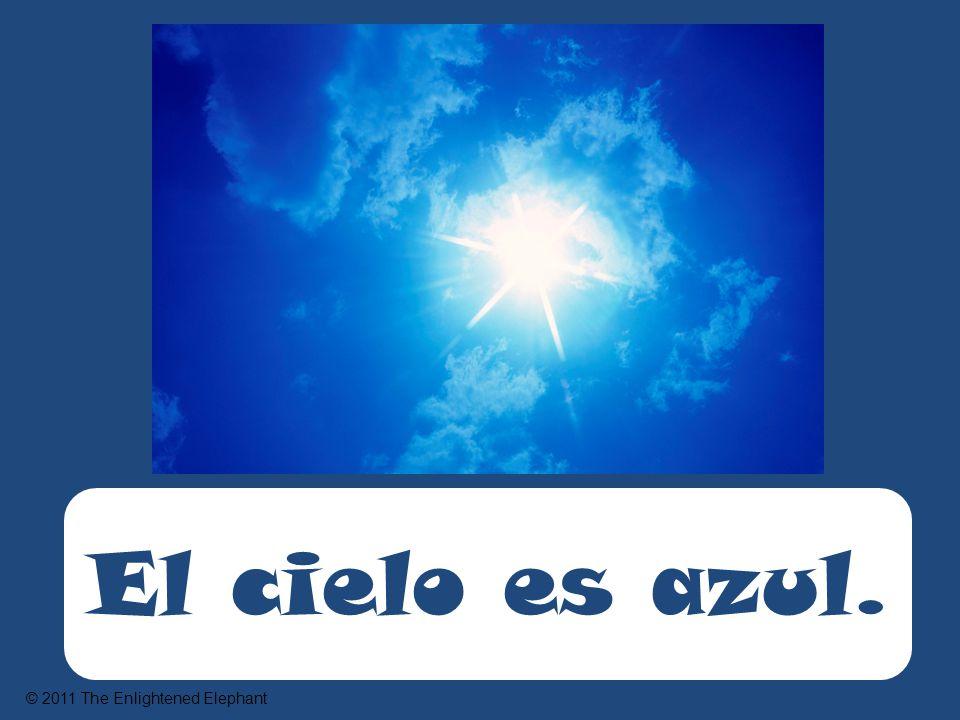 El cielo es azul. © 2011 The Enlightened Elephant