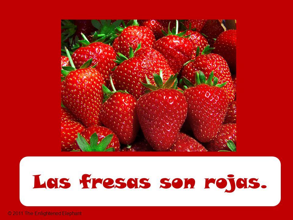 Las fresas son rojas. © 2011 The Enlightened Elephant