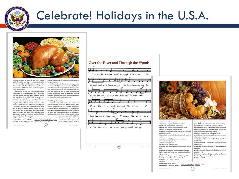 Celebrate! Holidays in the U.S.A.