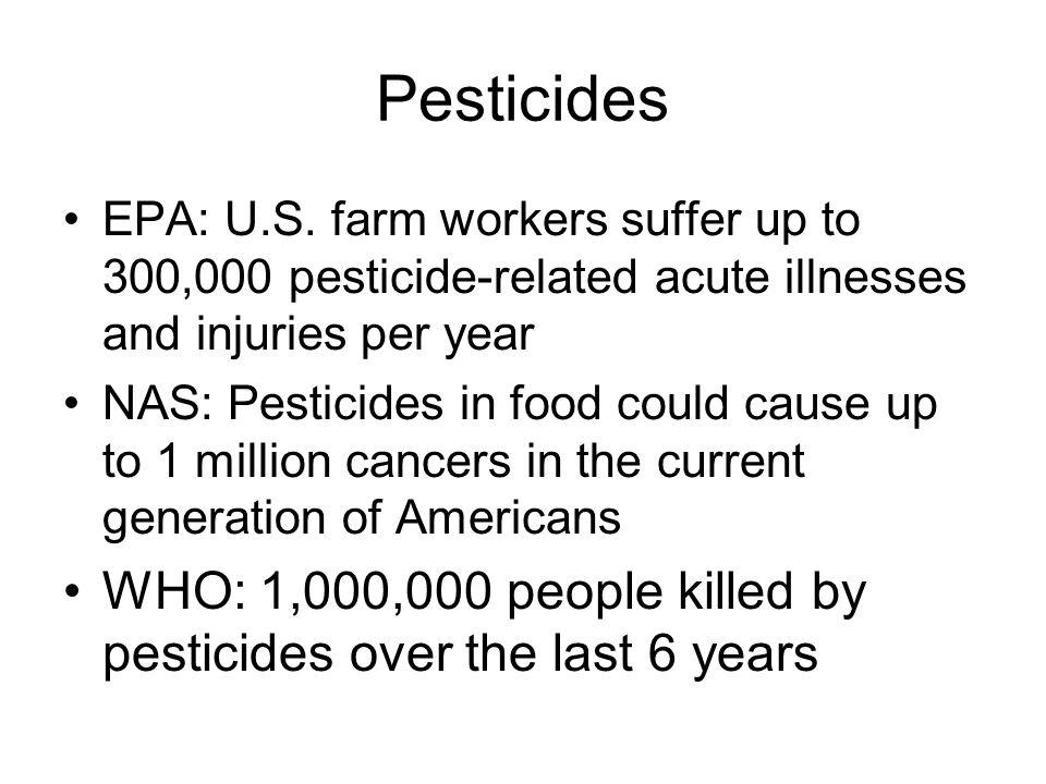 Pesticides EPA: U.S.