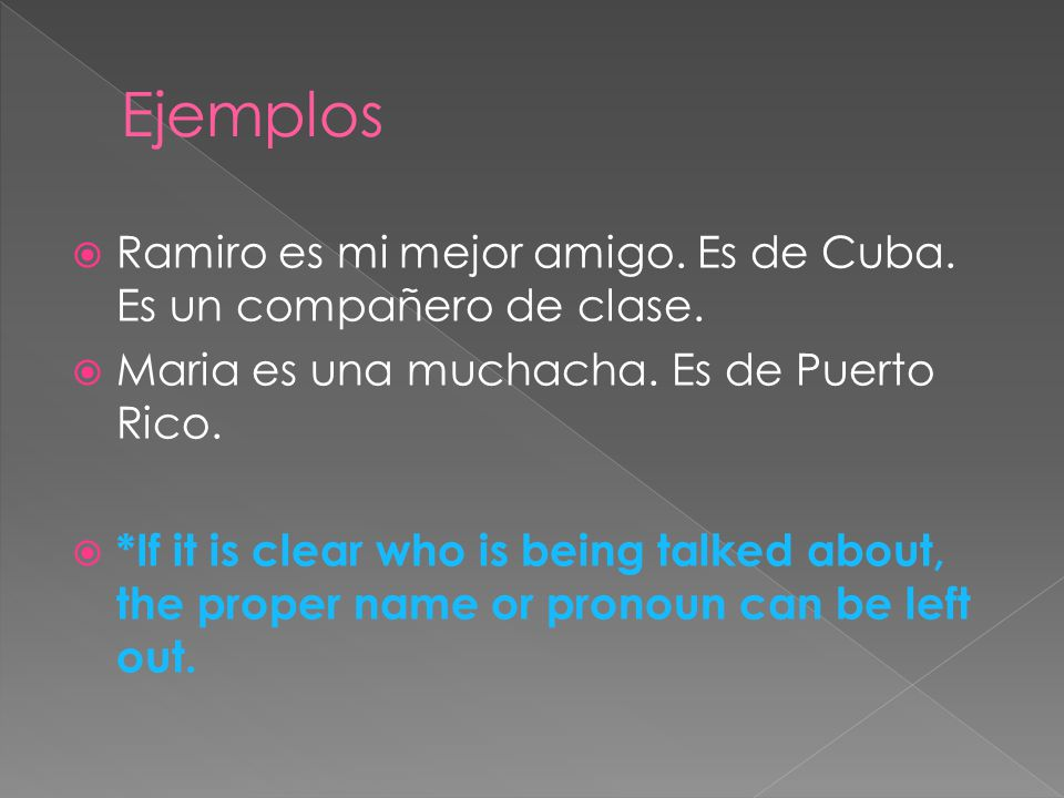  Students in Spanish-speaking countries address teachers in several ways.