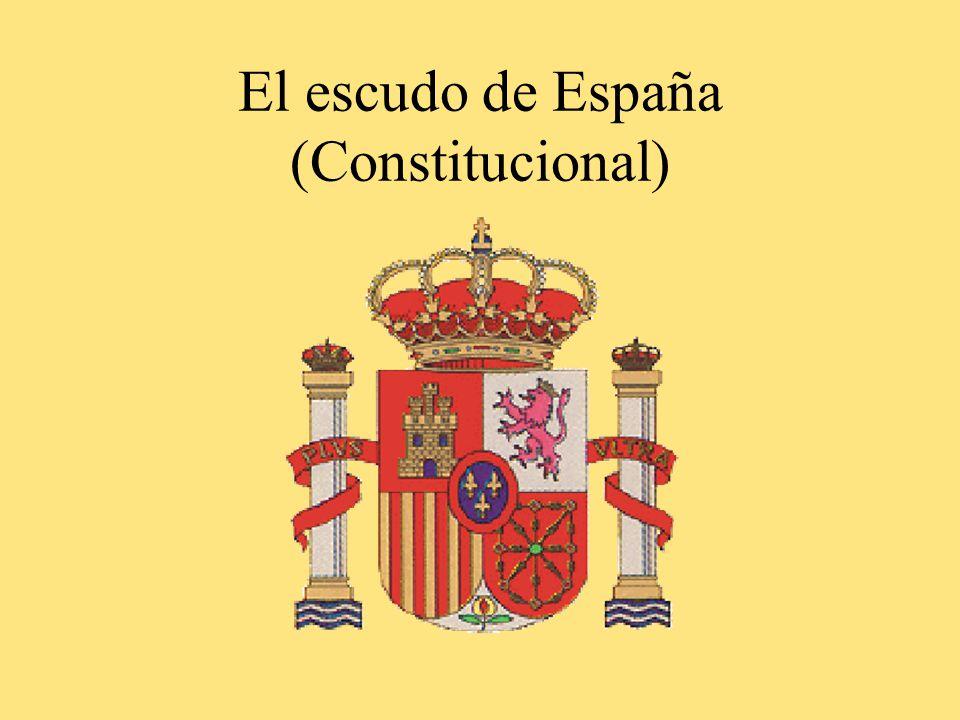 El escudo de España (Constitucional)
