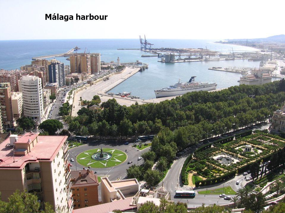 Málaga harbour