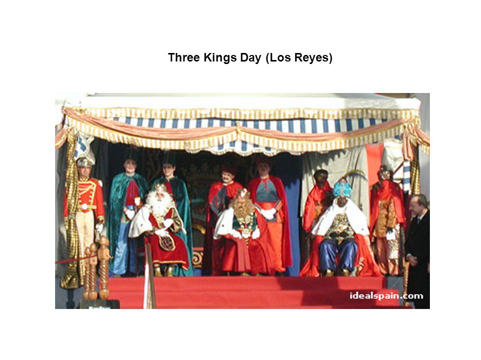 Three Kings Day (Los Reyes)