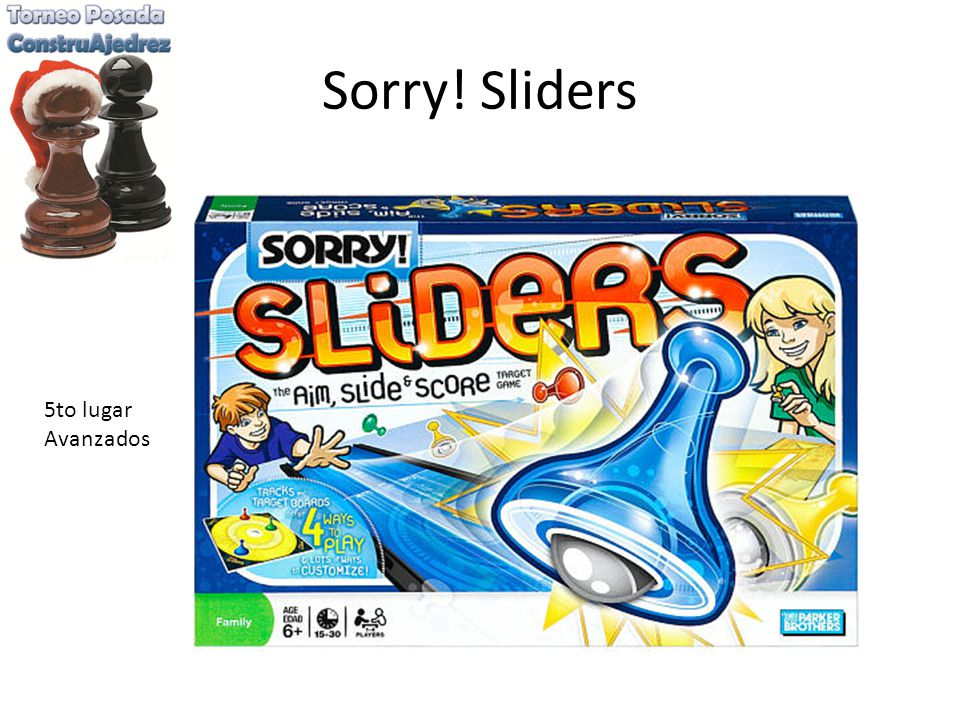 Sorry! Sliders 5to lugar Avanzados
