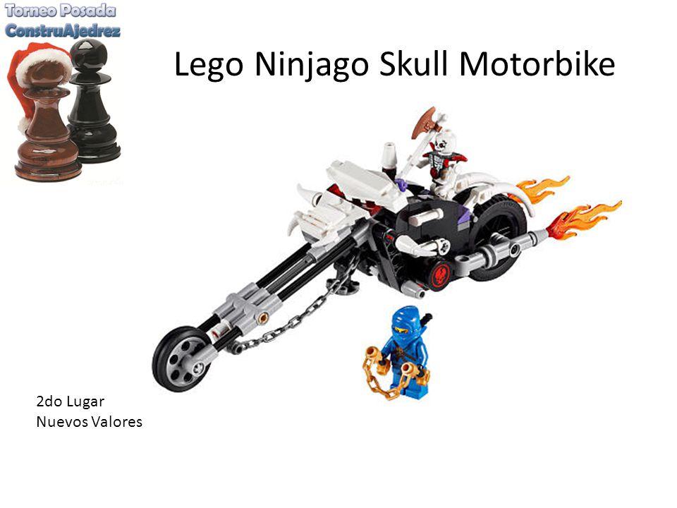 Lego Ninjago Skull Motorbike 2do Lugar Nuevos Valores