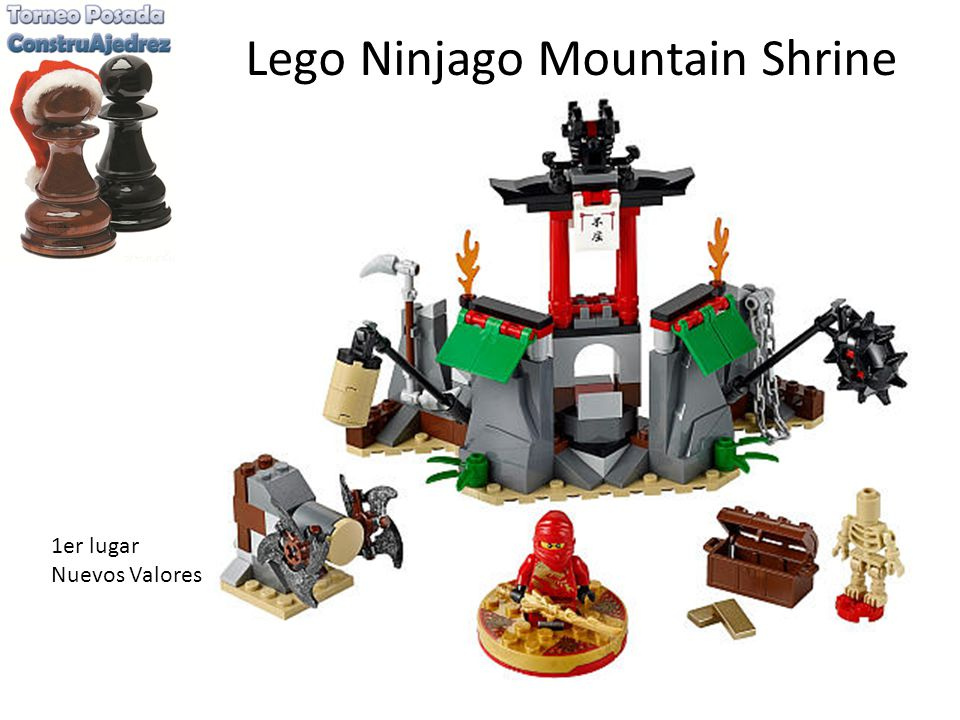 Lego Ninjago Mountain Shrine 1er lugar Nuevos Valores
