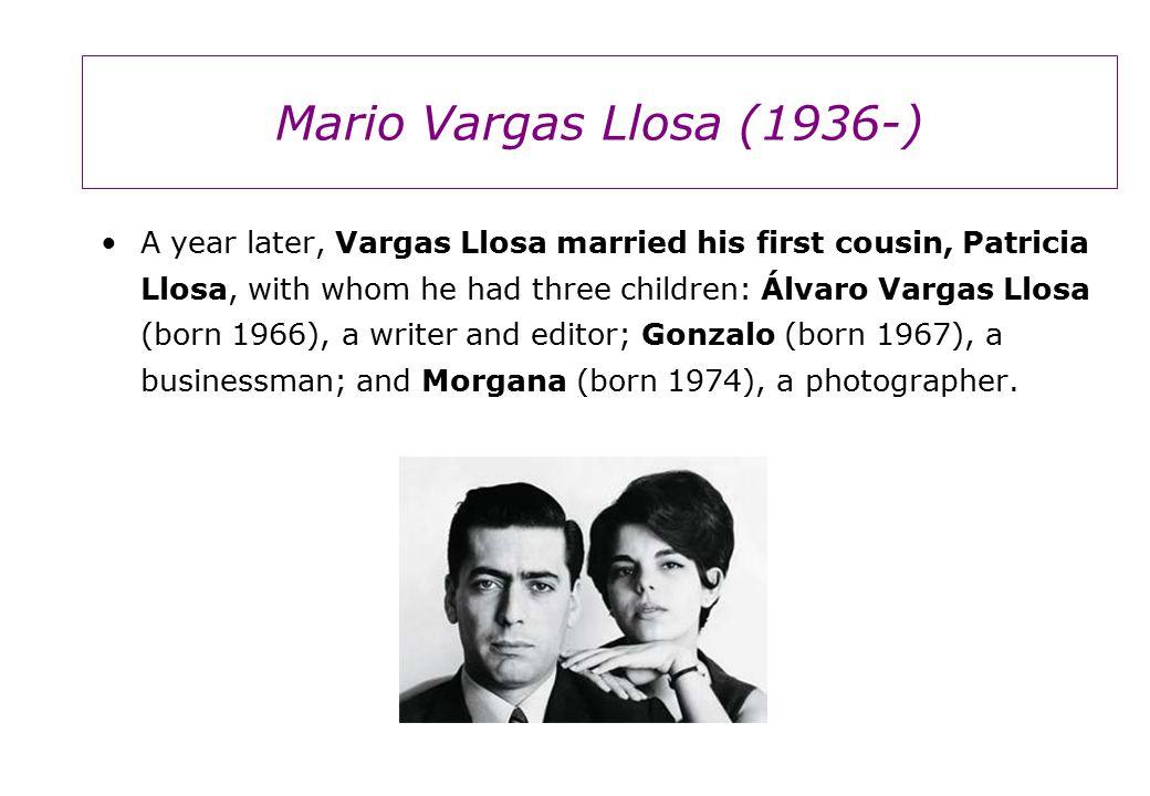 Vargas Llosa's first novel, La ciudad y los perros (1963; The City and the Dogs ; Eng.