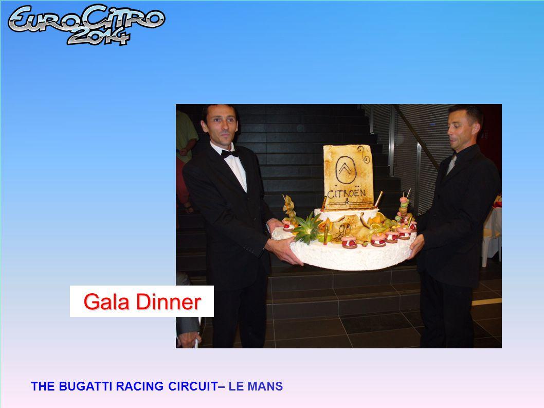 THE BUGATTI RACING CIRCUIT– LE MANS Gala Dinner