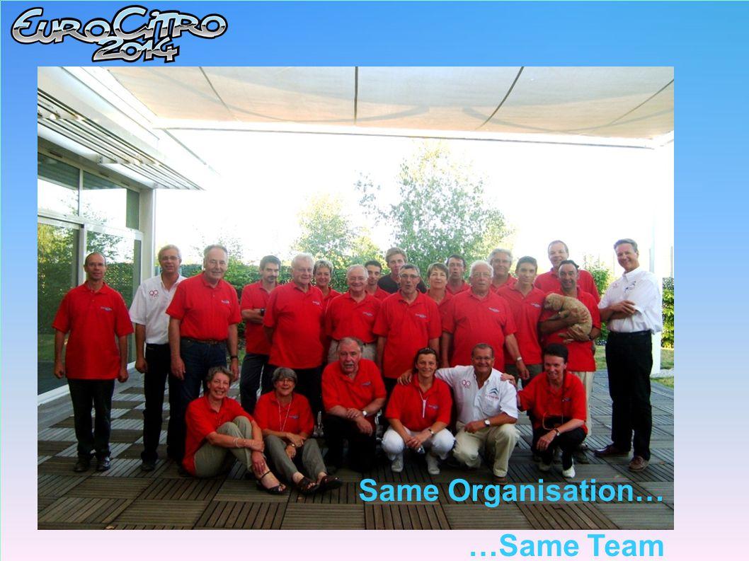 Same Organisation… …Same Team