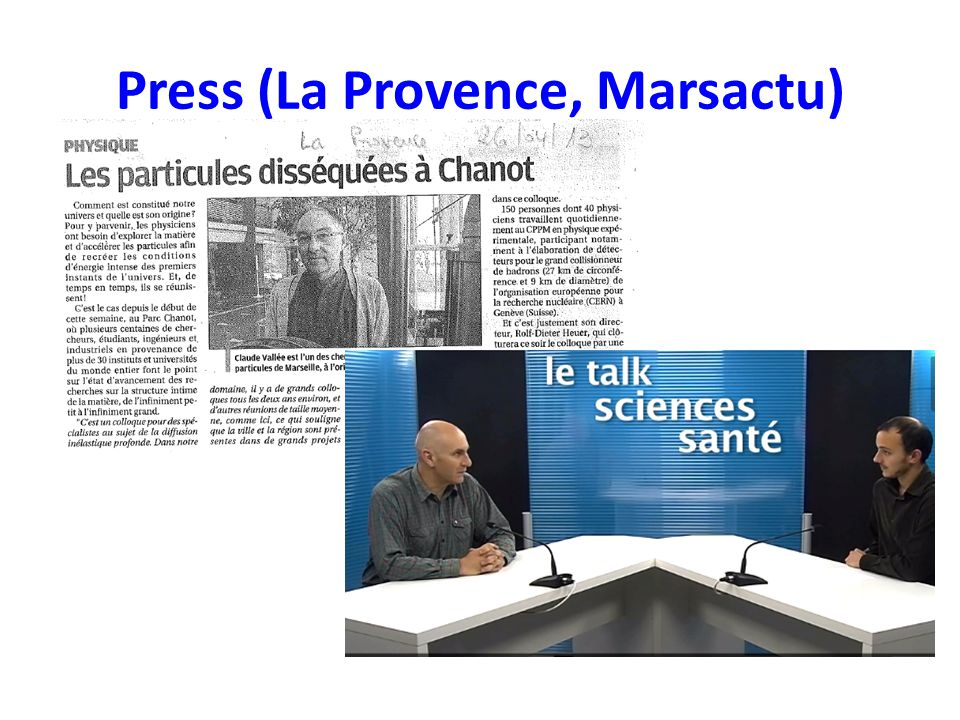 Press (La Provence, Marsactu)