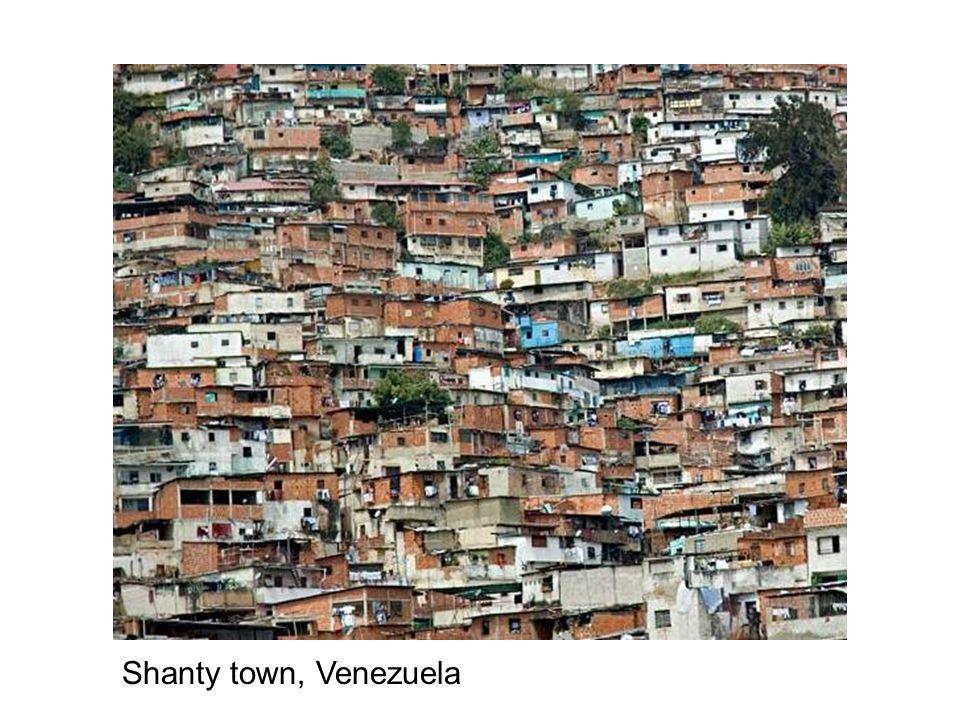 Shanty town, Venezuela