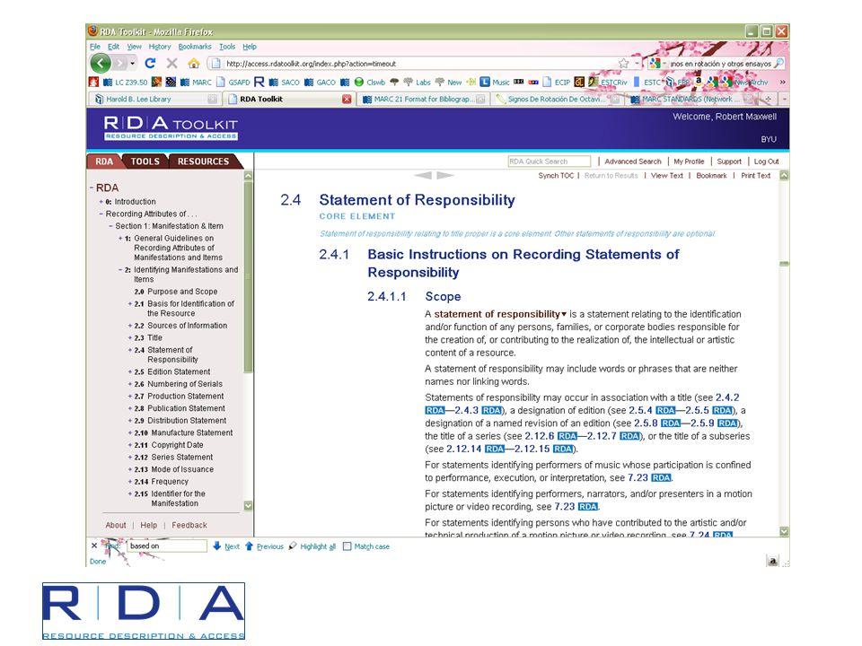 Publication Information Supplied Dates (RDA 1.9.2) AACR2RDA [ca.