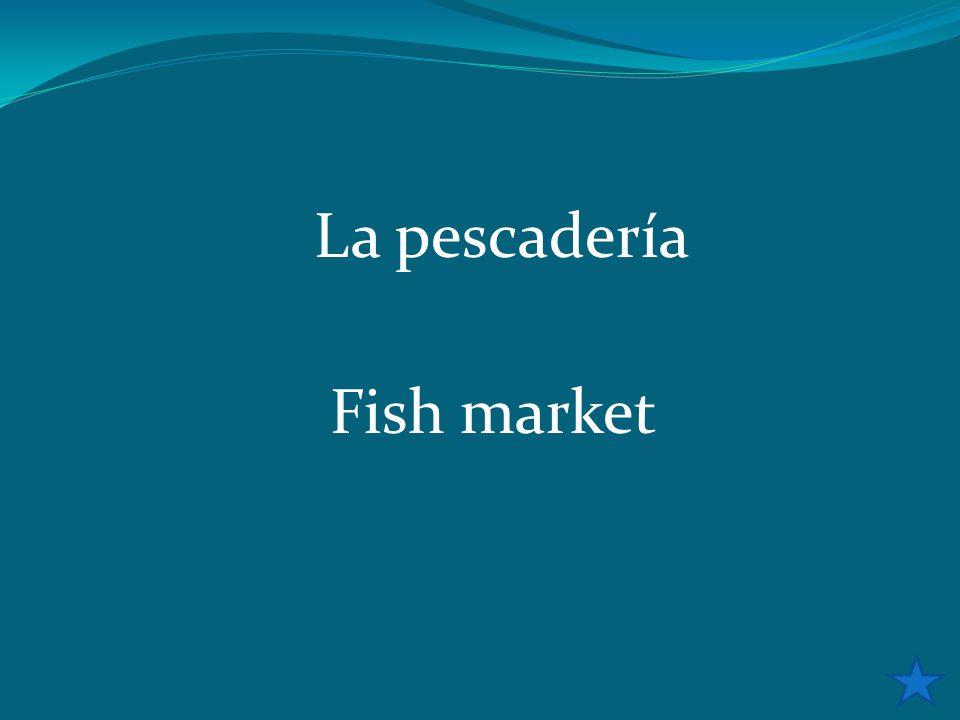 La pescadería Fish market