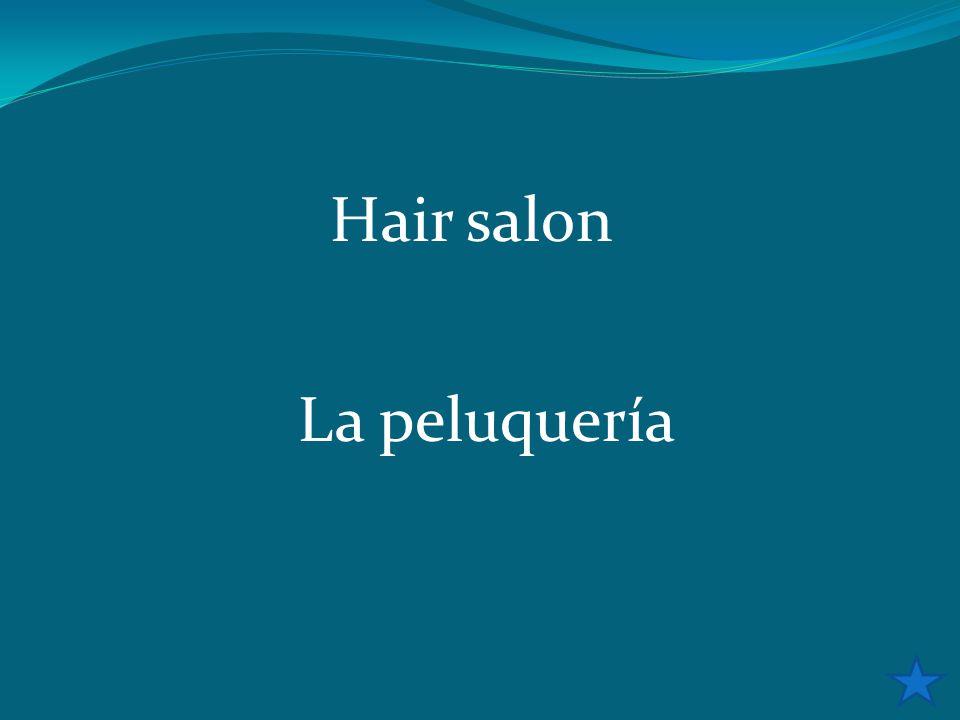 Hair salon La peluquería