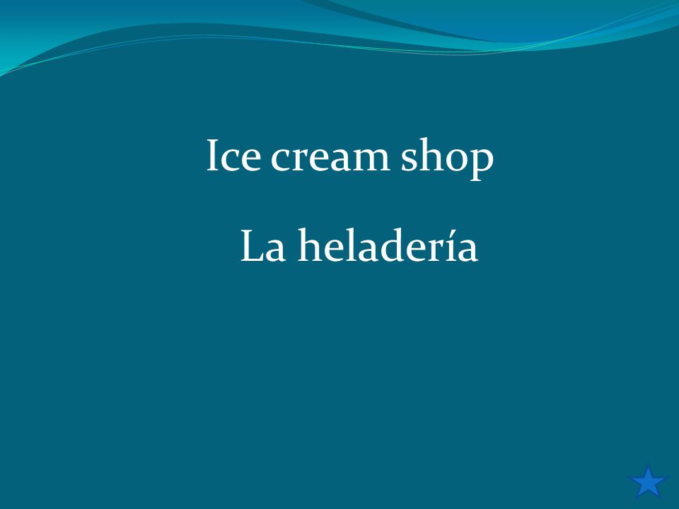 Ice cream shop La heladería