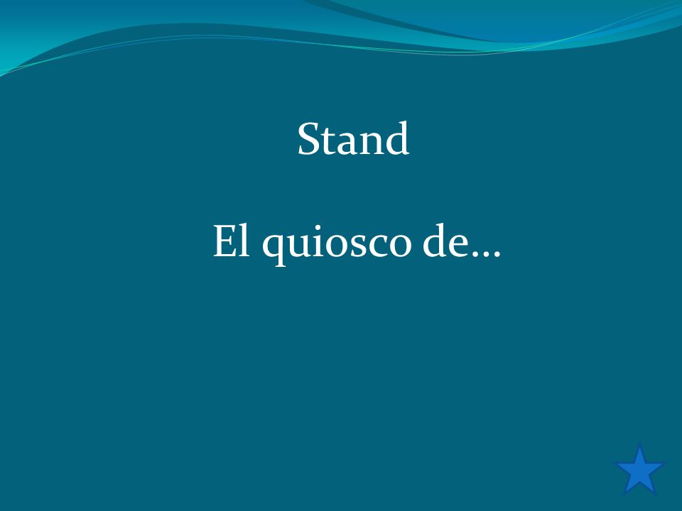 Stand El quiosco de…