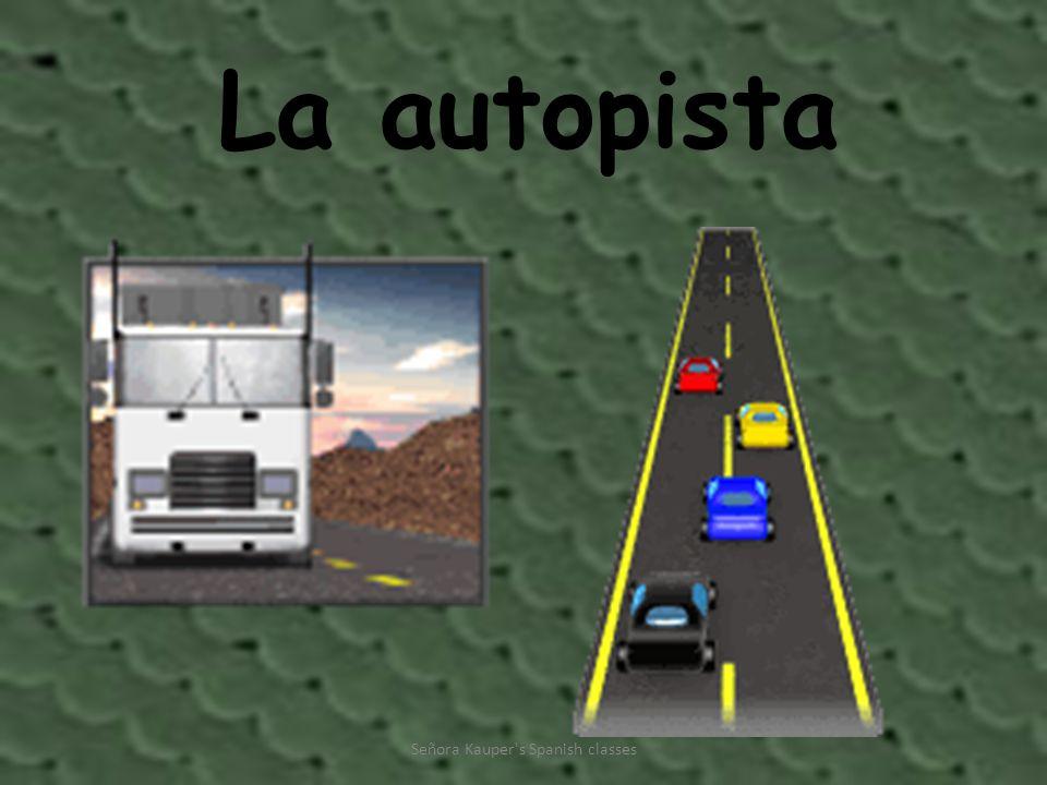 La autopista Señora Kauper s Spanish classes