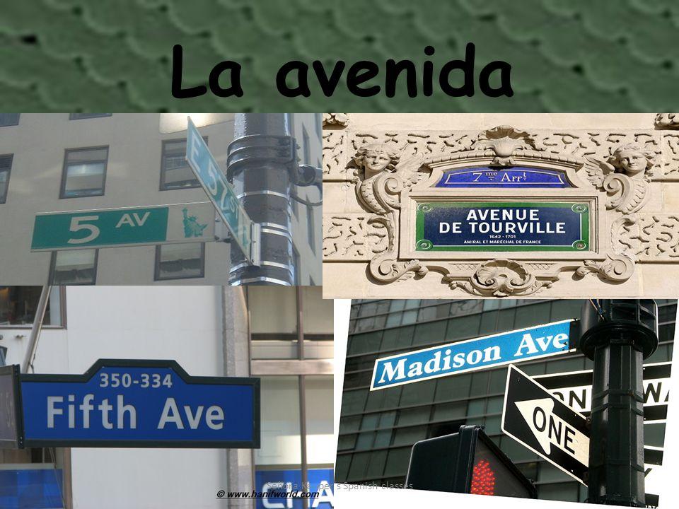 La avenida Señora Kauper s Spanish classes