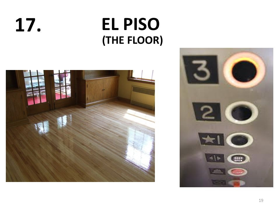 EL PISO 19 17. (THE FLOOR)