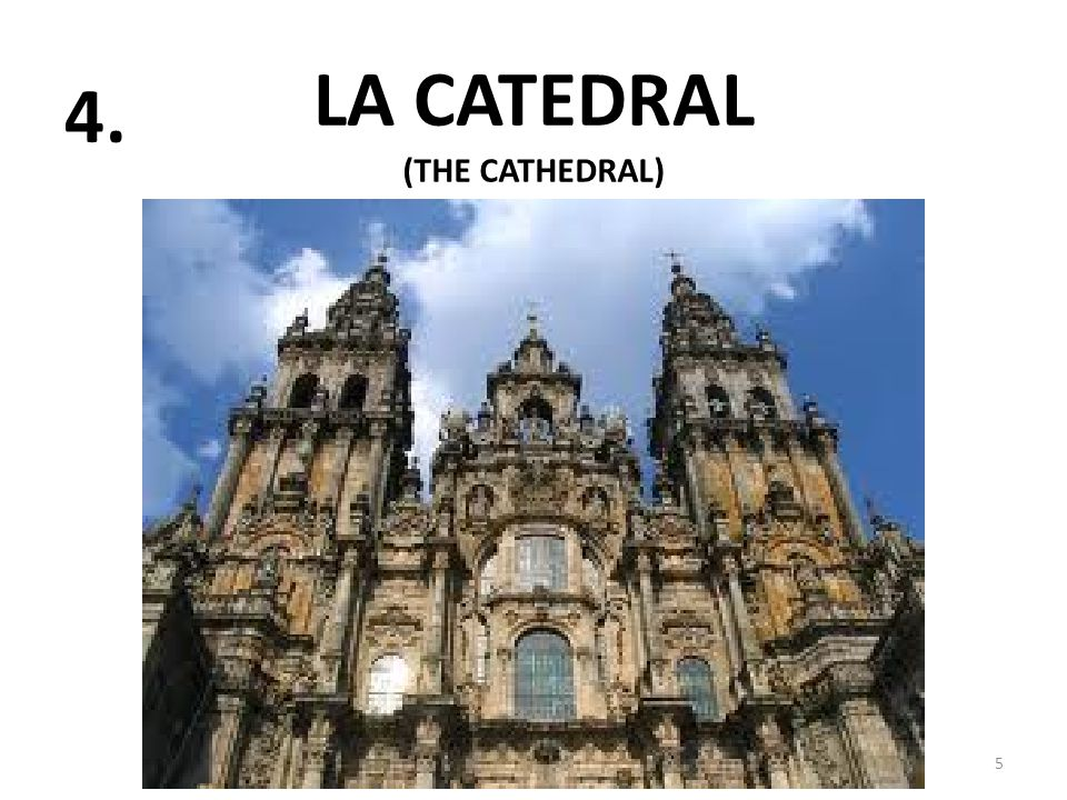 LA CATEDRAL 5 4. (THE CATHEDRAL)