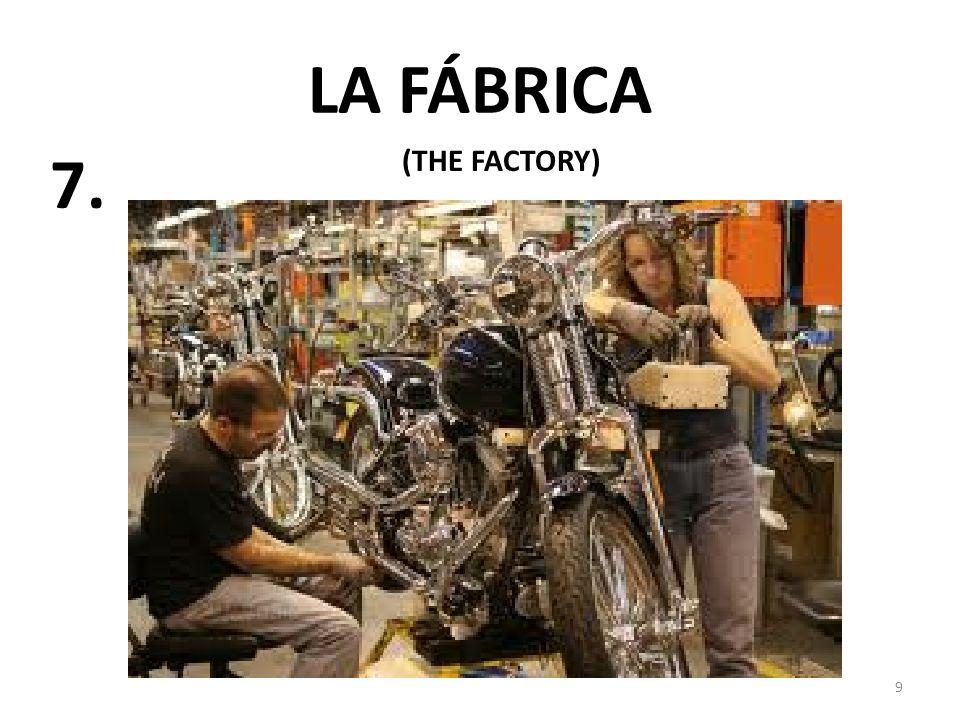 9 LA FÁBRICA (THE FACTORY) 7.