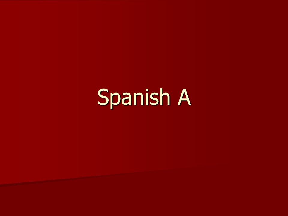 At the end of the lesson you will be able to… Say in Spanish the type of music you prefer.