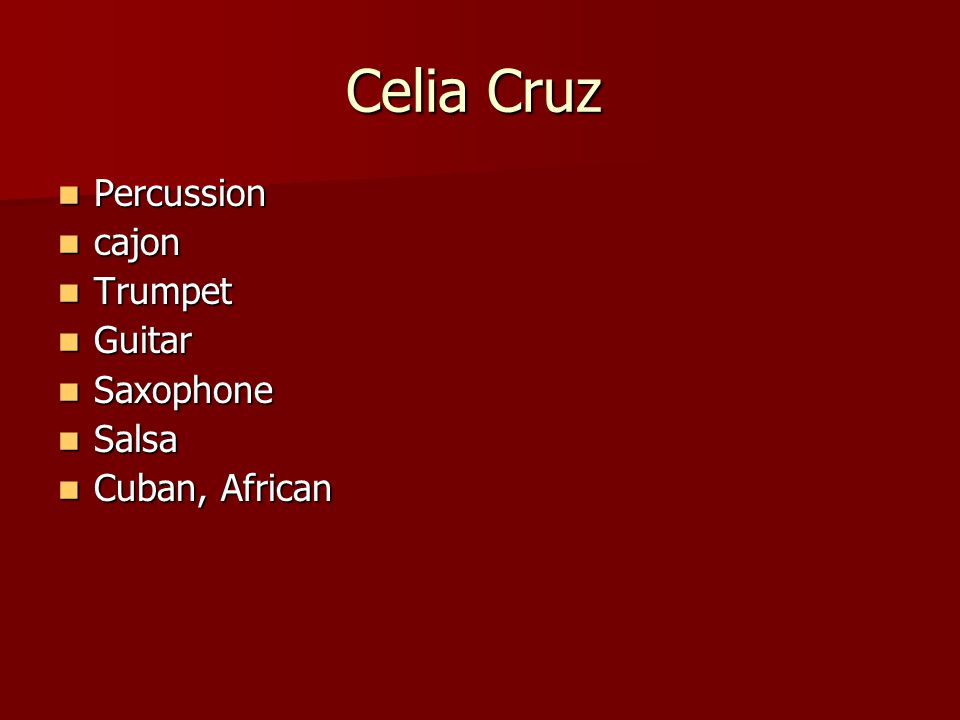 At the end of the lesson you will be able to… Identify key facts about 3 Spanish musicians.