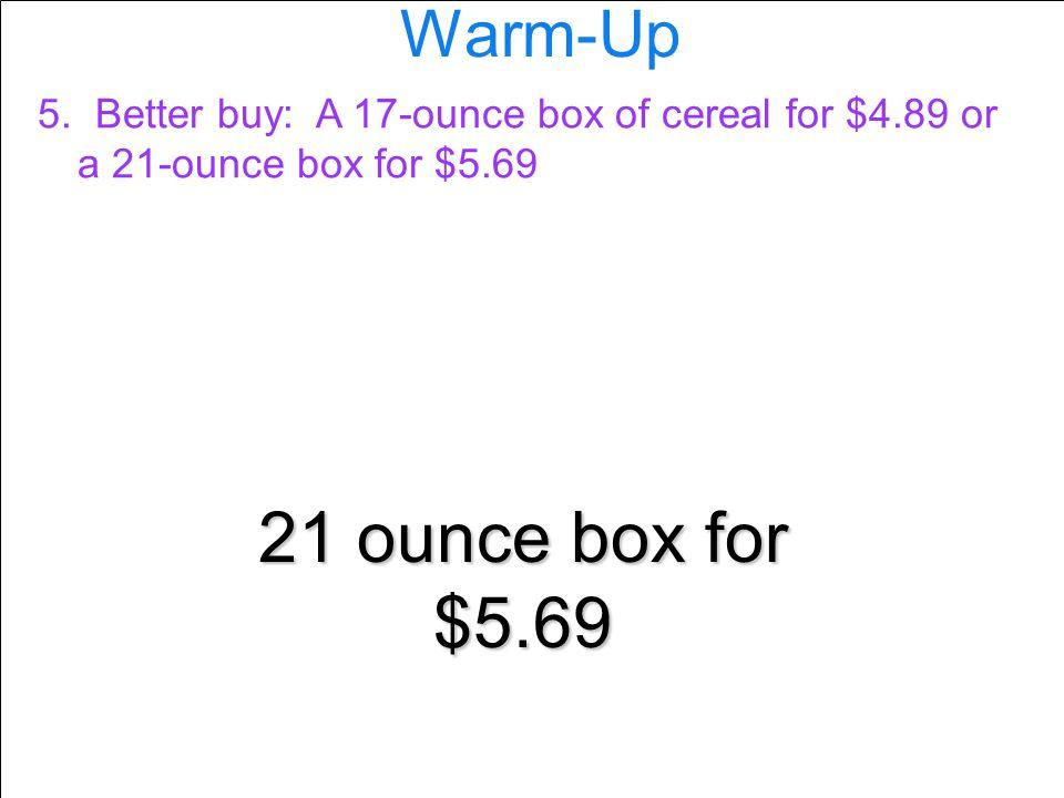 Warm-Up 5.