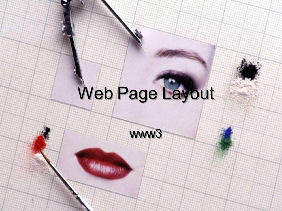 www31 Web Page Layout www3