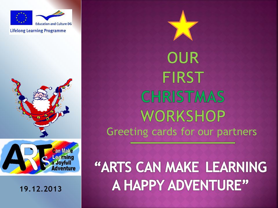 Greeting cards for our partners 19.12.2013
