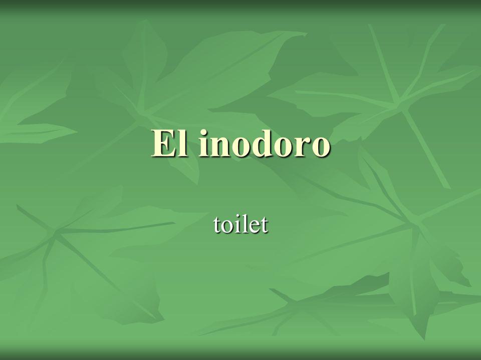 El inodoro toilet