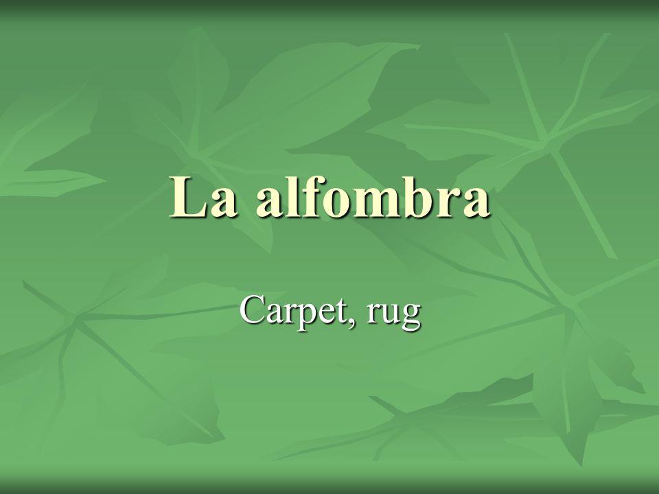 La alfombra Carpet, rug