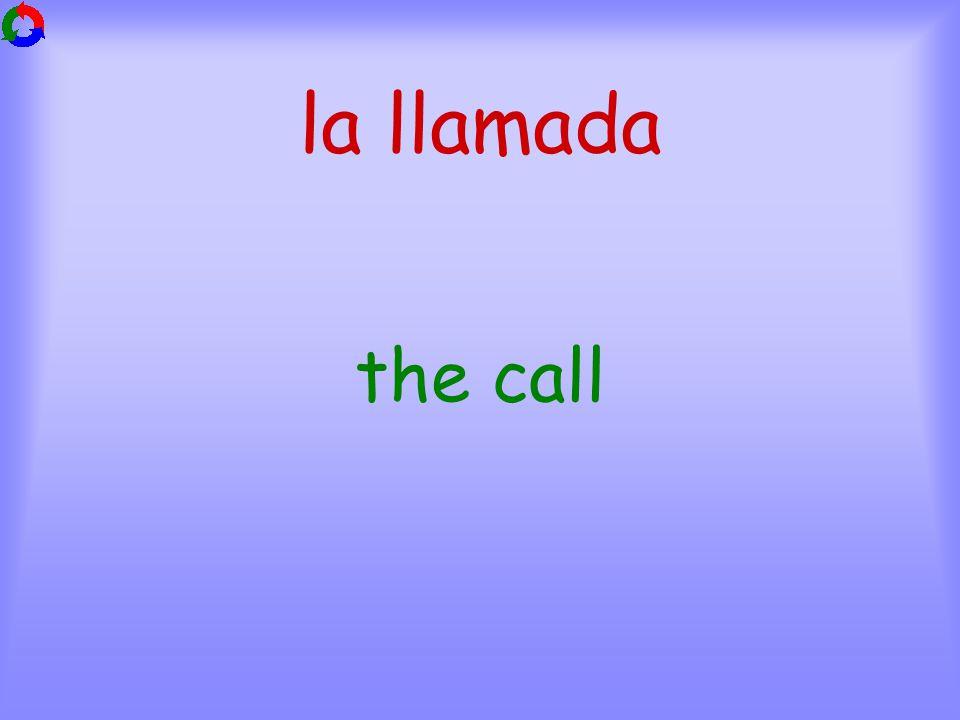 la llamada the call