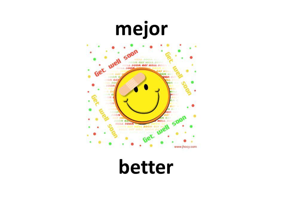 better mejor
