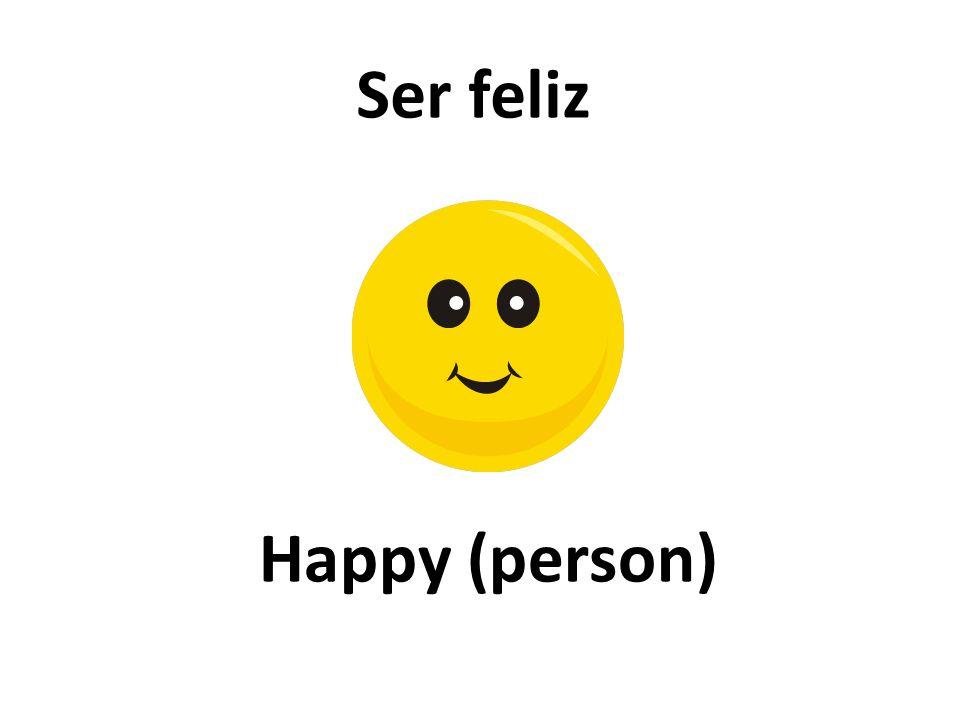 Happy (person) Ser feliz
