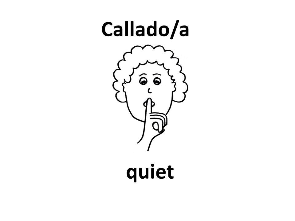 quiet Callado/a