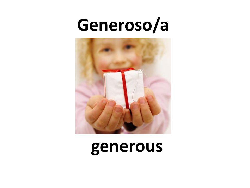 generous Generoso/a
