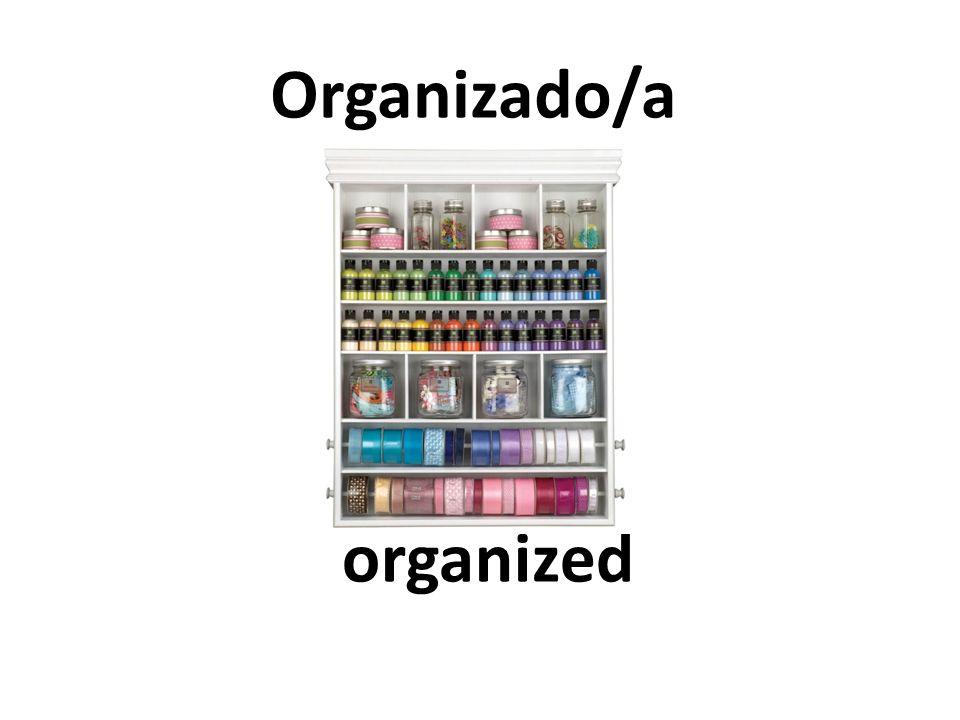 organized Organizado/a